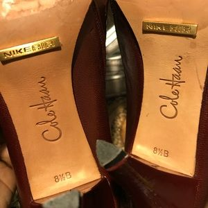 Cole Haan Shoes - EUC Cole Haan NIKE AIR LEATHER UPPER & sole shoes.